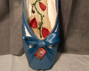 Village Belle Decorated Pointe Shoe