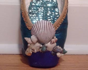 Mermaid Pointe Shoe