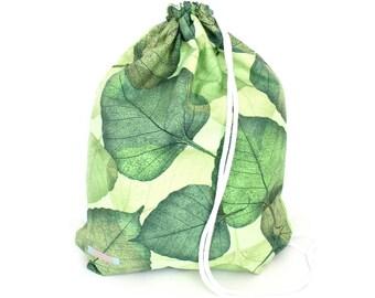 Falling Leaves Green Gym Bag - hannisch