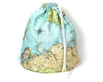 World Map Gym Bag - hannisch