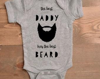75e394d92ca1 Best Daddy Best Beard Onesie
