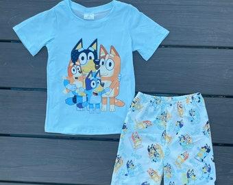 Bluey Shorts Set Unisex