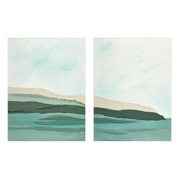 Diptych - Crystal Seas