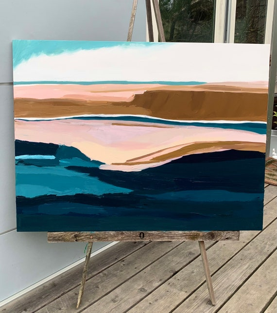 Original Abstract Painting 30 x 40