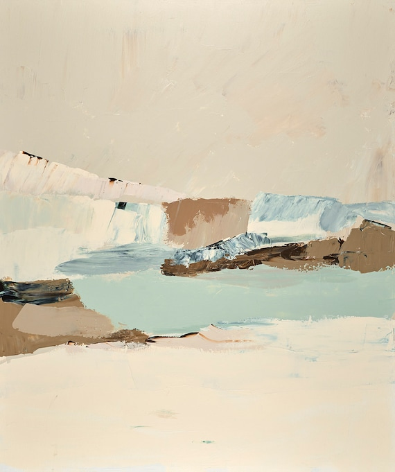 Muted Abstract Seascape