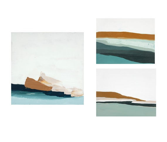 Gallery Wall - Three Seascapes