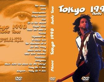 Prince Nude Tour Live Tokyodome 8/31/90 Very Rare DVD