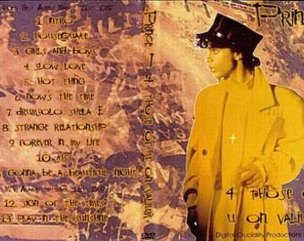 Prince Sign O The Times Tour LIve 4 Those Of You On Valium 3/21/87 Very Rare DVD