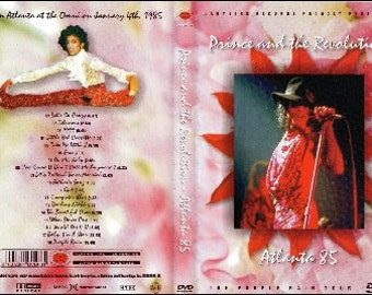 Prince Purple Rain Tour Live In Atlanta 1/04/85 Very Rare DVD