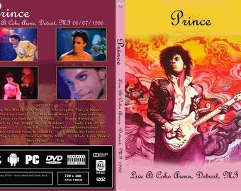 Prince Live 1986 Parade Tour Dvd Very Rare