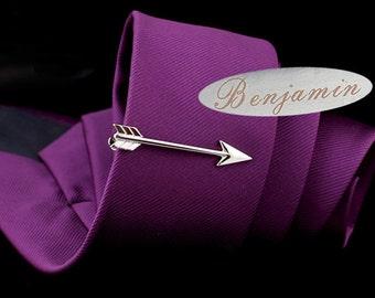 Arrow Tie Clip,ArcheryTieBar,HeroAccessories,Silver Accessories,GiftForMan,AnniversaryTuxedoBridalWeddingParty
