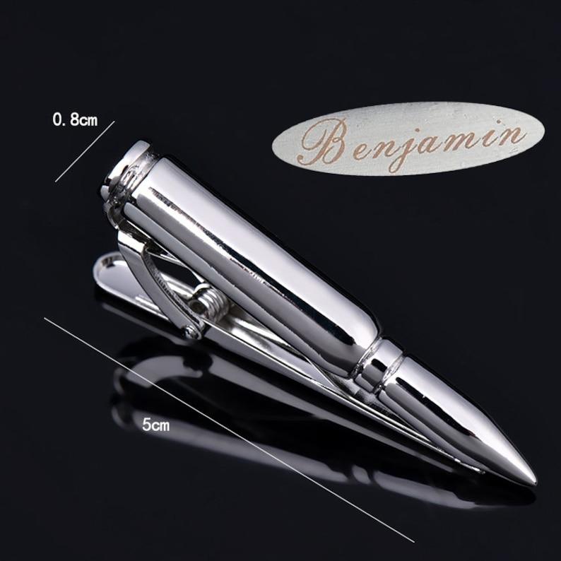 unique tie clip,custom tie clip,police tie clip,bullet accessories,bullet tie clip,mens bullet,skeleton mens tie,007 tie clip personalized