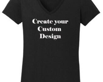 Custom Rhinestone or Vinyl Design T-Shirt Made to order