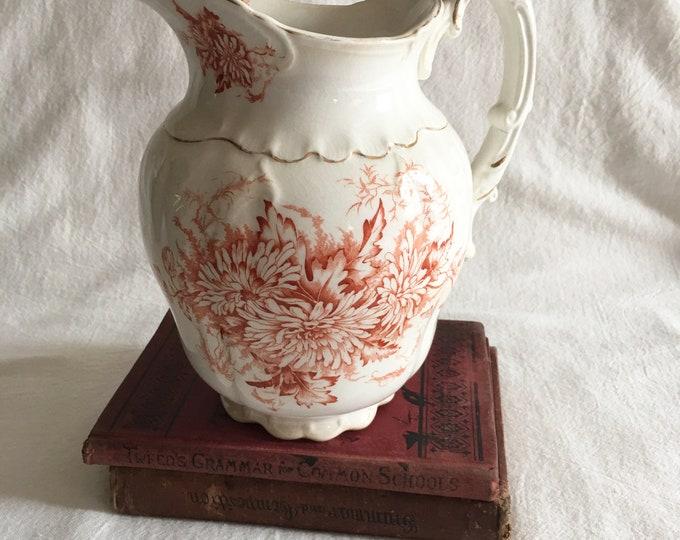 Featured listing image: Antique Porcelain Pitcher