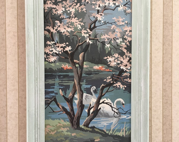 Featured listing image: Vintage Swans PBN