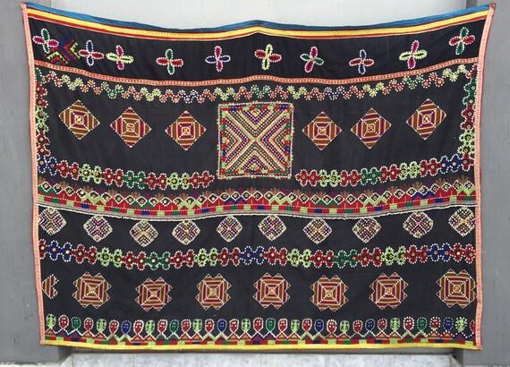 Kohistani hand embroidered wedding shawl