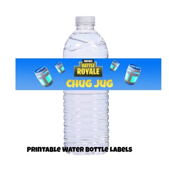picture relating to Chug Jug Printable known as Totally free Printable Fortnite Chug Jug Labels Fortnite 2019
