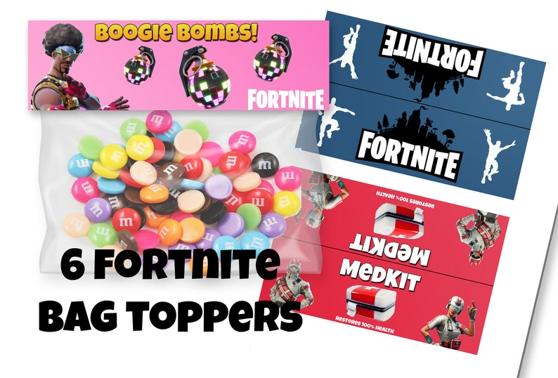 Fortnite Treat Bag Etsy