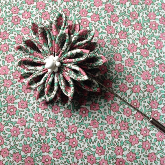 Liberty Of London Blume Anstecknadel Traditionelle Japanische Etsy