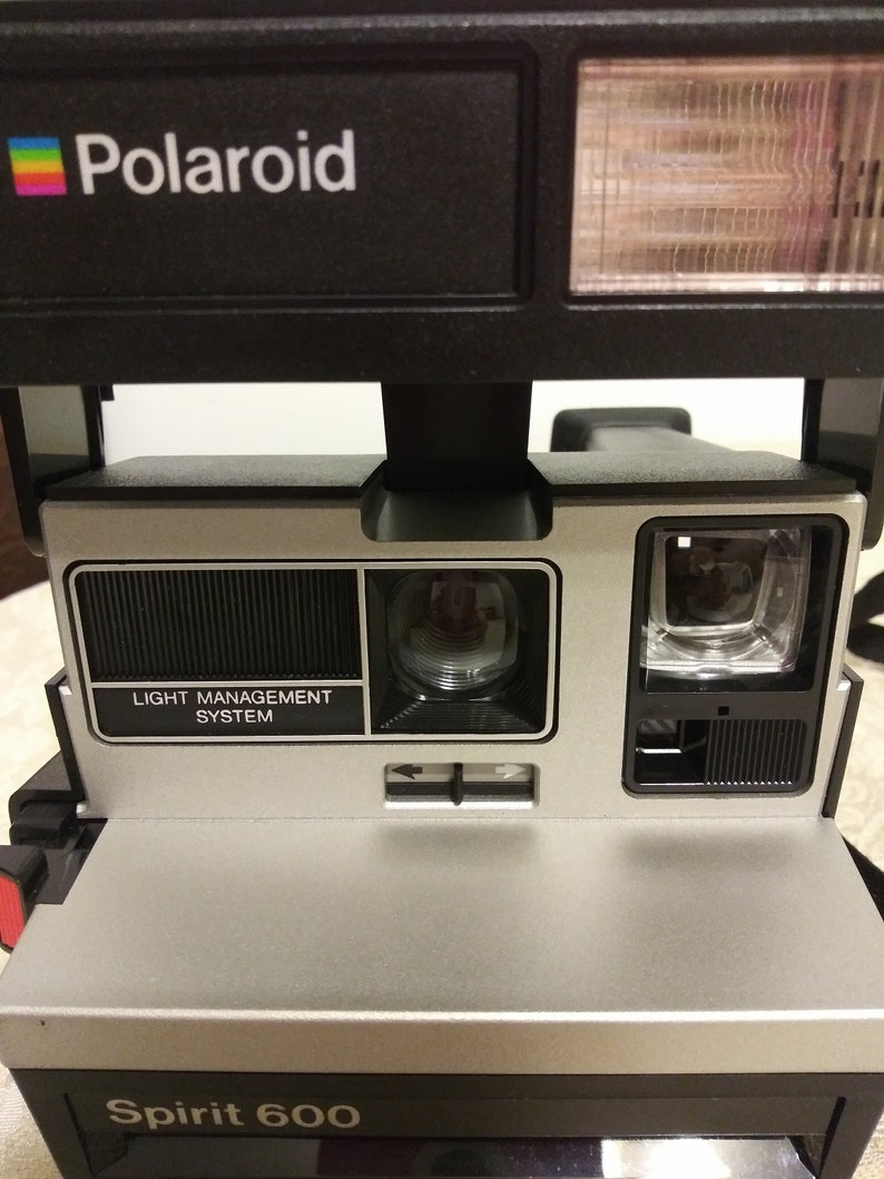Vintage Polaroid Spirit 600 Camera