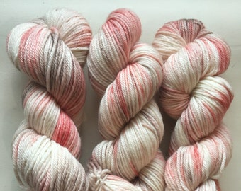 Peach Quartz, hand-dyed yarn *DYE-TO-ORDER*
