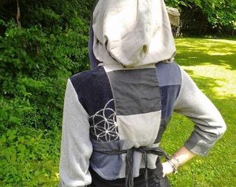Design Your Patchwork Wrap Vest