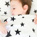 Baby Neutral Nursery Stars Duvet Cover, Crib Bedding, Duvet Cover Set, Nursery Bedding Set, Toddler Bedding, Kids Bedding Set