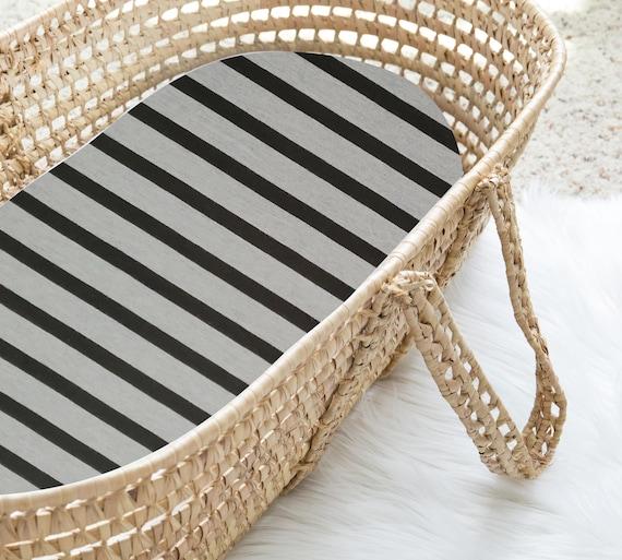 patrones Negro 100/% algodón. Moisés Hojas