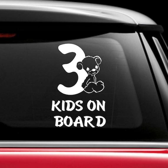Little Prince On Board car vinyl sticker boy blue child kids window bumper sign