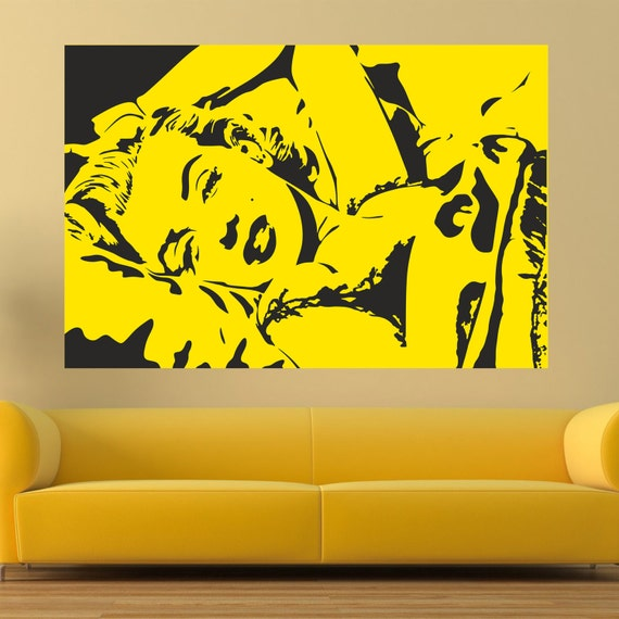 Marilyn forever wall decal Pop art wall decal Marilyn Monroe & Fantastic Pop Art Wall Decal Images - Wall Art Collections ...