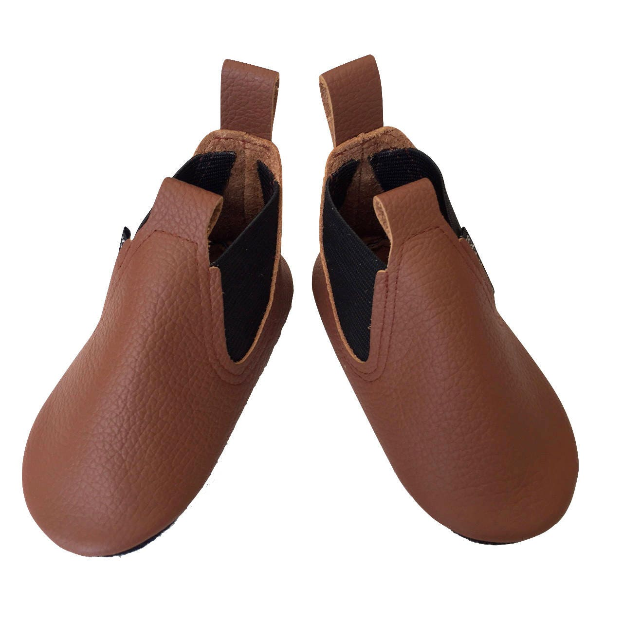 0d5adeed31fe2 Brown Baby Boots Toddler Boy Boots leather baby shoes