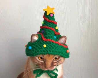 a9bf49bcc8e Christmas cat hat