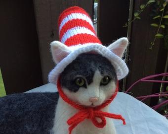 Cat costumes, cat in the hat, cat hats, cat photo prop, cat accessories, picture prop, pet supplies, pet costumes, cats, kitten costumes