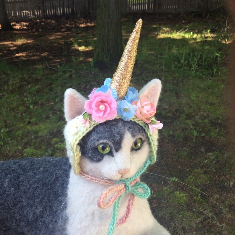 Unicorn Cat Hat | Stay at Home Mum