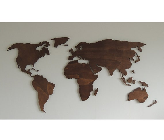 3d wooden world map xl floating on the wall etsy image 0 gumiabroncs Choice Image