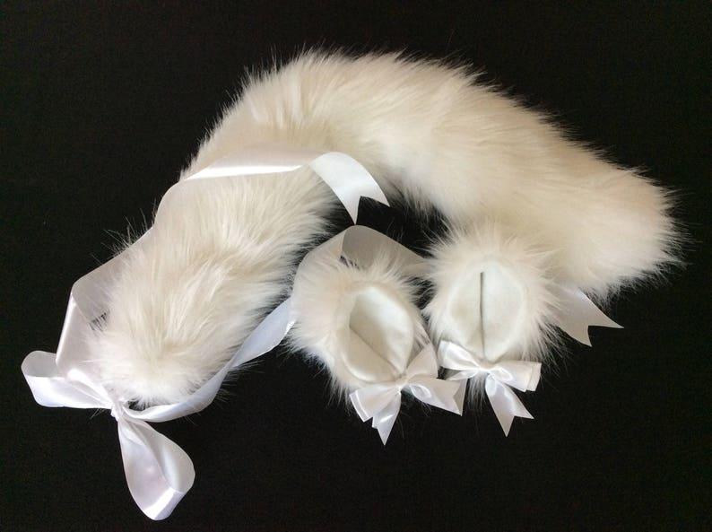 Luxury Kitten/ Wolf Pure Kitten Play Set Tail & Ears BDSM image 0