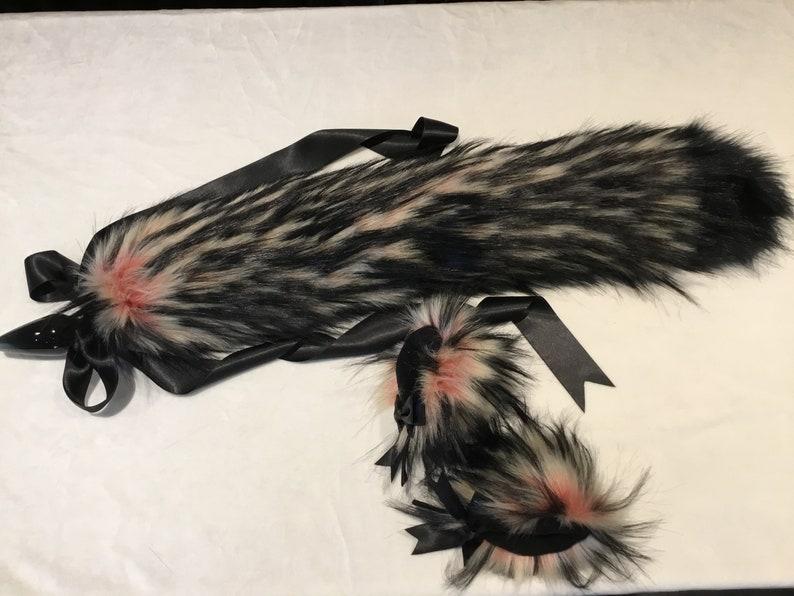 Luxury Amour kitten  BDSM Wolf Set With Plug