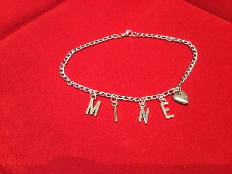 MINE  anklet silver image 0