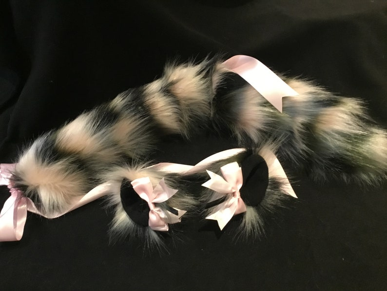Limited Edition Camo kitten/ Wolf Set Bdsmneko cosplay image 0