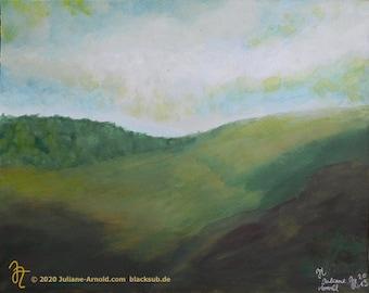Watercolor landscape  5