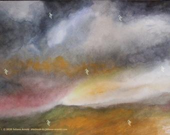 Watercolor landscape 3
