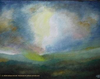 Watercolor landscape  7