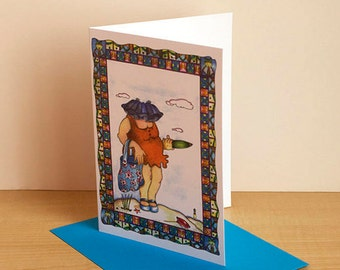 All occasion greeting card, birthday card, blank card funny card