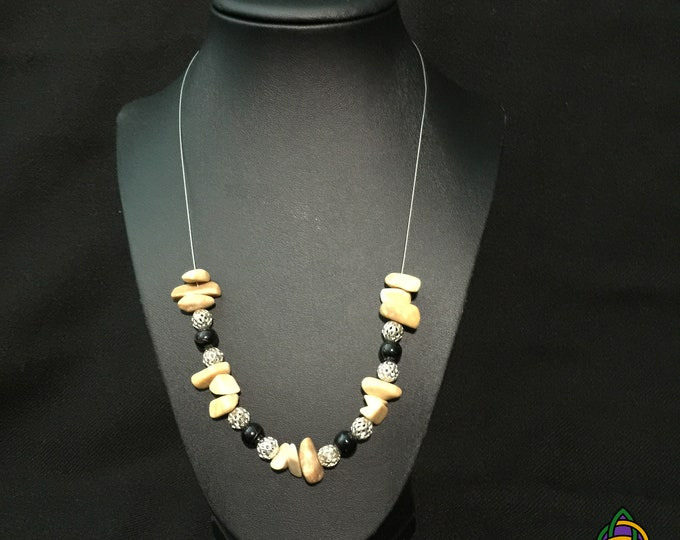 Featured listing image: NOW AVAILABLE! The Desert Dweller Necklace - Was Previously Displayed at the Los Angeles Arboretum, Art Among Us Exhibition June 2019.