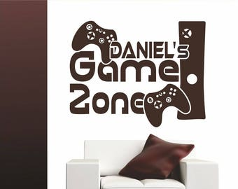 Xbox Eine Fernbedienung Gamepad Kinderzimmer Aufkleber Wandkunst Aufkleber Bild