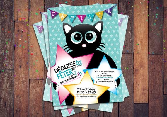 Carte D Invitation A Imprimer Soi Meme Invitation Pour Etsy