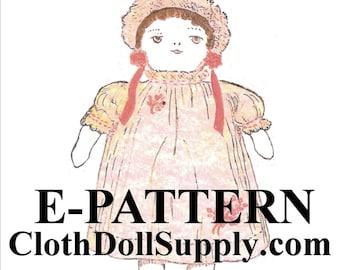 E-Pattern – Babe Ann Rag Doll Sewing Pattern #EP 1234