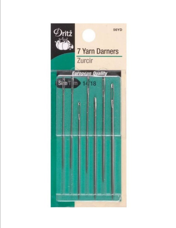 by Dritz 157 3 sizes DOLL NEEDLES pack of 5