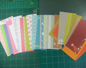 Scrapbooking papers (seasons)