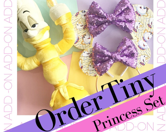 Add-on | Tiny Princess Set | Toddler Ears | Any Style | Mommy and Me